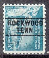 USA Precancel Vorausentwertung Preo, Locals Tennessee, Rockwood 745 - Vorausentwertungen