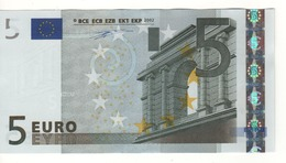 "5 EURO  ""P""  Olanda   Firma Duisenberg      F 003 C1    /  FDS - UNC - 5 Euro"