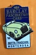 BARCLAY FASCINATION CAR - Pins