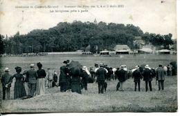 N°63548 -cpa Aérodrome De Castel Novel -aout 1912- - Aerodromes