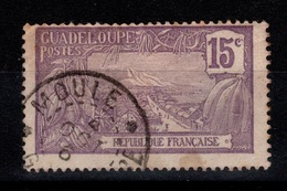 Guadeloupe - YV 60 Oblitere LE MOULE - Guadalupe (1884-1947)