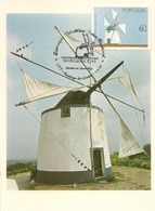 MC - Portuguese Mills - Santiago Do Cacém - Portugal - Maximum Cards & Covers