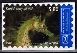 Kroatien 2015, Michel# 1192 O Long-snouted Seahorse (Hippocampus Guttulatus) - Croatia