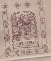 110718 Sachet Emballage CAFE EXTRA Plantation Palmier Ile Voilier Art Déco Rose - Other
