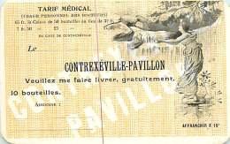 110718 - 88 CONTREXEVILLE PAVILLON Carte à Affranchir Destinée Au Docteur - Illustration - Vittel Contrexeville