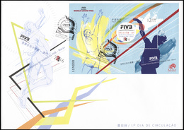 Macao. 2016. FIVB Volleyball World Grand Prix - Macau (Mint) First Day Cover - 1999-... Région Administrative Chinoise