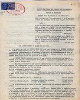 VP12.743 - TOURS - Acte De 1962 - Entre La S.N.C.F Gare De BOURGES & La Société POMONA à PARIS - Chemin De Fer