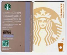 New Starbucks 2018 China Special Edition White Siren MSR  Card Pin Covered - Chine