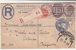 G.B. / Stationery / Sussex / Belgium Registration / Brighton - 1840-1901 (Victoria)