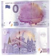 Billet Touristique 0 Euro Souvenir - Paris - CANOT DE L'EMPEREUR NAPOLEON 1er - Private Proofs / Unofficial