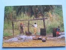 Extraction De L'huile De Palme BURUNDI ( 65 - Iris - O.N.T. - Bastière ) Anno 19?? ( Voir Photo ) ! - Burundi