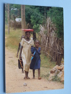 Ecolières Burundaises BURUNDI ( 78 - Iris - O.N.T. - Bastière ) Anno 19?? ( Voir Photo ) ! - Burundi
