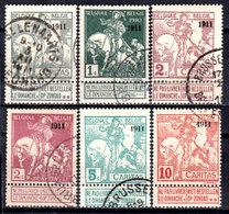 Belgio-006b - Emissione 1911 (o) Used - Senza Difetti Occulti. - Belgien