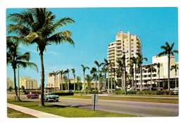 CPSM ETATS-UNIS MIAMI BEACH FAMOUS HOTEL - Miami Beach