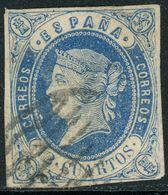 Nr. 51 Ausgabe Von 1862 Gestempelt - 1850-68 Royaume: Isabelle II