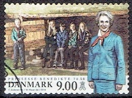 DENMARK  #  FROM 2014  STAMPWORLD 1709 - Used Stamps