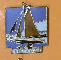 BATEAU SLOUP A CORNE - Boats
