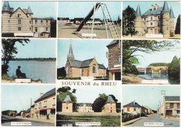 35. Gf. Souvenir Du RHEU. 9 Vues - France