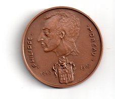 Médaille : Philippe Moreau -1943-1967 - Voir état - France
