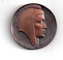 Médaille : Association Nationale Des Présidents Des Conseils Généraux - 28 Pluviose An VIII - Voir état - France