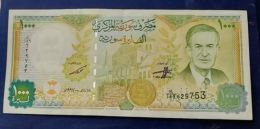 AA- SYRIA 1000 Liras 1997 A-UNC - Syrie