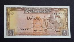 AA- SYRIA 1 Lira 1967 UNC - Syrie