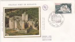 FDC - Châreau Fort De Bonaguil - FDC