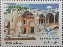 Liban NOUVEU 2018 ** - Palais De Beiteddine - Emission Commune Entre Les Pays Euromed - Lebanon