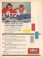 Pourquoi LEGO Est Le Jouet ... ... ? (réf. 251pub) - Werbung