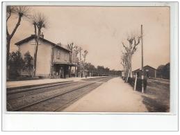 NEUBLANS : Carte Photo De La Gare - Très Bon état - France