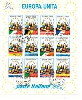 BELLISSIMO FOGLIETTO EUROPA UNITA 1993 - 1946-.. République