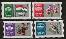Hongrie 1961 N° Y&T : 1440 à 1443 ** - Ongebruikt