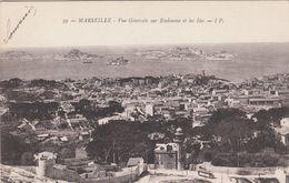 Cp , 13 , MARSEILLE , Vue Générale Sur Endoume Et Les Îles - Endoume, Roucas, Corniche, Strände