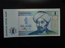 KAZAKHSTAN : 1 TENGE   1993   P 7a    NEUF - Kazakhstan