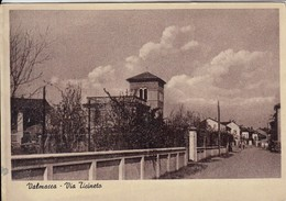 VALMACCA ALESSANDRIA VIA TICINETO - CARTOLINA SPEDITA NEL 1955 - Otras Ciudades