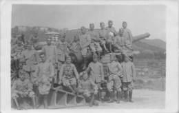"""DD8030 """"CANNONI PESANTI DA 149/35 MOD. 1901 DEL REGIO ESERCITO ITALIANO CON SERVENTI AL PEZZO"""" I GUERRA MOND. FOTO ORIG. - Guerre, Militaire"""