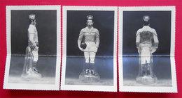 1951 RARE Brevet Invention + 6 Photos Bouteille Forme Joueur De Rugby Et Foot Distillerie Lezignan-Corbieres 11 - Vino