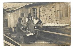 TB Cartephoto  METZERAL - MITTLACH - HAHNENBRUNNEN - Fermier Et Ses Fromages - Cliché Weber Wittelsheim 1924 - Munster