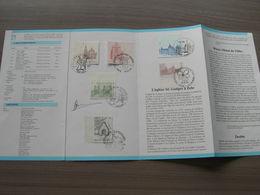 BELG.1986 2217-2222 Folder FR TIMBRES Avec Oblitéré Premier Jour - FDC