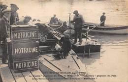 """MONACO- MEETING 1913, LES CANOTS """"LE QUATRE"""" GAGNANT DU PRIX ET """"FLAMBEAU"""" GAGNAT DU PRIX DE LA RIVIERA -MOTRICINE- - Monaco"""