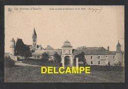 DD / BELGIQUE / PROVINCE DE LIÈGE / FERRIERES / ECOLE NORMALE ET SÉMINAIRE SAINT ROCH / CIRCULÉE EN 1907 - Ferrieres