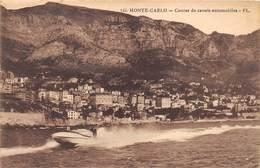 MONTE-CARLO- COURSE DE CANOTS AUTOMOBILES - Monte-Carlo