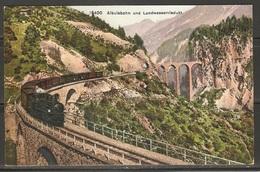 Carte P / Chemins De Fer Suisse ) - Trains