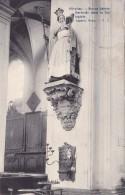 Nivelles Statue Sainte-Gertrude Dans La Collégiale Circulée En 1911 - Nivelles