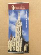 Atthias Church Ticket 2017 - Tickets D'entrée