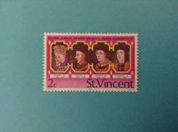 1977 ST. VINCENT FRANCOBOLLO NUOVO STAMP NEW MNH** SILVER JUBILEE OF HER MAJESTY QUEEN ELIZABETH II 2 C - St.Vincent (1979-...)