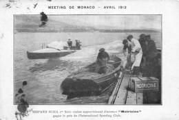 "MONACO-MEETING1912, HISPANO SUIZA ,1er SERIE CRUISER APPRO D'ESSENCE ""MOTRICINE"" GAGNE LE PRIX DU SPORTING CLUB - Monaco"