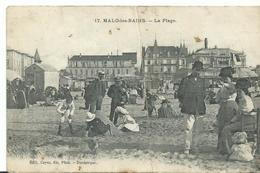 59 Malo Les Bains La Plage Vtres Animée - Malo Les Bains