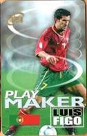 Thailand - TH-12Call-0105, GSM Refill, Soccer 03/12 - Luis Figo, Football (Soccer), Exp 6/04, Used - Thaïlande