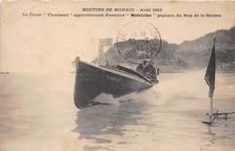 """MONACO-MEETING - LE CANOT FLAMBEAU, APPRO D'ESSENCE """"MOTRICINE """" GAGNAT DU PRIX DE LA RIVIERA - Monaco"""